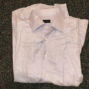 Ermenegido Zegna Mens button up long sleeve shirt